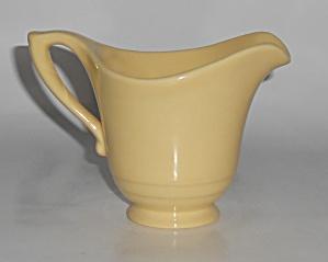 Franciscan Pottery Montecito Gloss Yellow Creamer  (Image1)