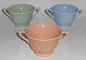 Franciscan Pottery Montecito Set/3 Sugar Bowls (Image1)