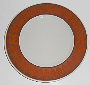 Franciscan Pottery Terra Cotta Salad Plate