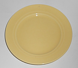 Franciscan Pottery Montecito Gloss Yellow Bread Plate
