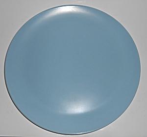 Catalina Pottery Rancho Ware Duotone Blue/Ivory Chop Pl (Image1)