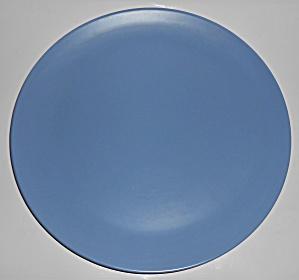 Catalina Pottery Rancho Ware Dark Blue Chop Plate (Image1)