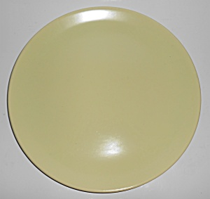 Franciscan Pottery El Patio Satin Yellow Chop Plate