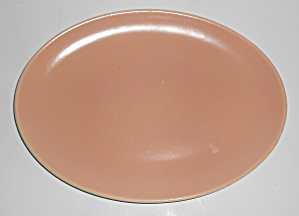 Catalina Pottery Rancho Ware Duotone Coral/ivory Pl