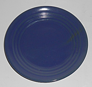 Bauer Pottery Ring Ware Cobalt Bread Plate (Image1)