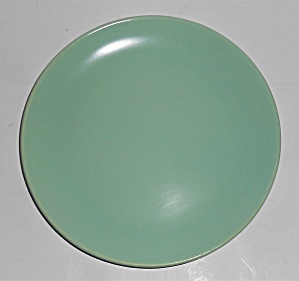 Catalina Pottery Rancho Ware Pastel Green Dessert Plate (Image1)