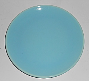 Catalina Pottery Rancho Ware Gloss Turquoise Dessert Pl