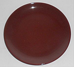 Catalina Pottery Rancho Ware Red/brown Dessert Plate