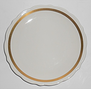 Syracuse China Restaurant Ware Gold Band Salad Plate