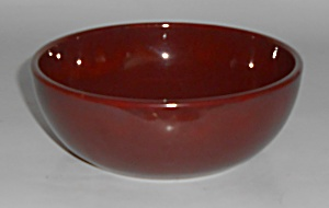 Catalina Pottery Rancho Ware Red/Brown Cereal Bowl (Image1)