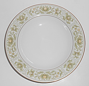 Sango China Porcelain Savannah W/gold Rimmed Soup Bowl