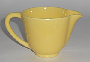 Franciscan Pottery Catalina Rancho Gloss Yellow Creamer (Image1)