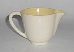 Franciscan Pottery Catalina Rancho Duotone Ivory/yellow