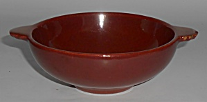 Franciscan Pottery Catalina Rancho Red/brown Fruit Bowl