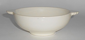 Franciscan Pottery Catalina Rancho Satin Ivory Fruit Bo