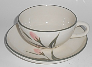Metlox Pottery Vernon Ware Rose Cereal Bowl