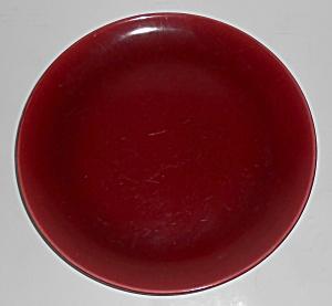 Catalina Pottery Rancho Ware Maroon/Oatmeal Duotone Din (Image1)