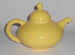Franciscan Pottery El Patio Gloss Yellow Teapot w/Lid (Image1)
