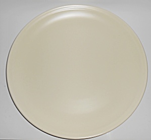 Franciscan Pottery Montecito Satin Ivory 14 Chop Plate (Image1)