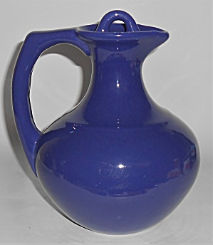 Franciscan Pottery El Patio Mexican Blue Handled Carafe (Image1)