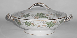 Noritake Porcelain China 5312 Daphne W/gold Covered Veg
