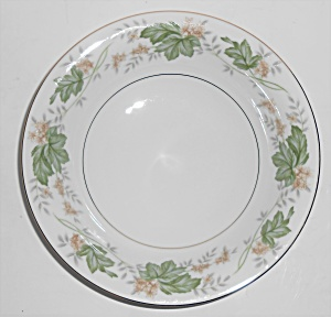 Noritake Porcelain China 5312 Daphne W/gold Soup/cereal