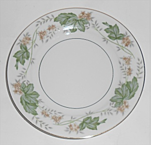 Noritake Porcelain China 5312 Daphne W/gold Bread Plate