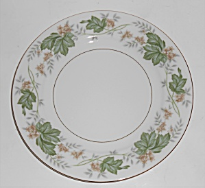 Noritake Porcelain China 5312 Daphne W/gold Salad Plate