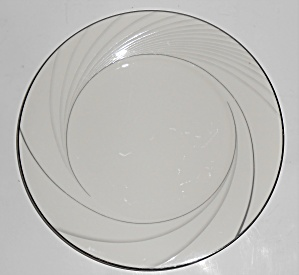 Noritake Porcelain Fine China 7740 Sterling Tide Salad