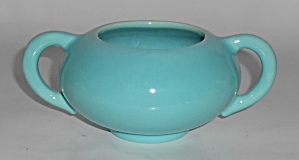 Franciscan Pottery El Patio Gloss Turquoise Early Sugar (Image1)