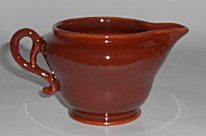 Franciscan Pottery El Patio Redwood Gloss Creamer