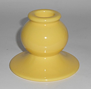 Franciscan Pottery El Patio #133 Gloss Yellow Candlest (Image1)
