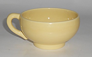 Franciscan Pottery El Patio Early Gloss Yellow Cup