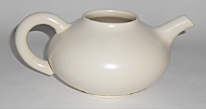Franciscan Pottery El Patio Satin Ivory Teapot