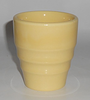 Franciscan Pottery El Patio Gloss Yellow Banded Tumbler (Image1)