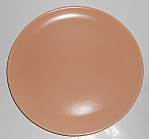 Catalina Pottery Rancho Ware Satin Coral Large Dinner