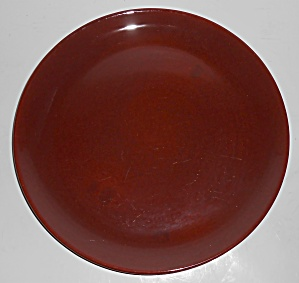 Catalina Pottery Rancho Ware Redwood Gloss Large Dinner