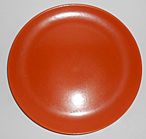 Catalina Pottery Rancho Ware Flame Orange Large Dinner