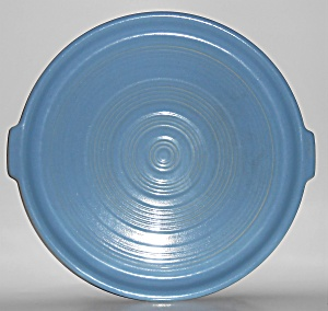 Pacific Pottery Hostess Ware 15in Lt Blue #413 Tab Tray
