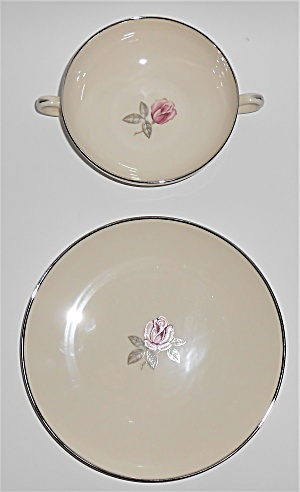 Franciscan Pottery Fine China Encanto Rose Cream Soup/d