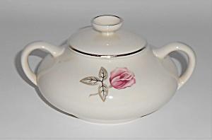 Franciscan Pottery Fine China Encanto Rose Sugar Bowl (Image1)