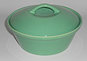 Franciscan Pottery Nasco S-43 Green Casserole w/Lid (Image1)