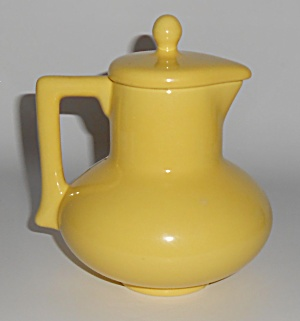 Franciscan Pottery El Patio Gloss Yellow Syrup Pitcher
