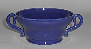 Franciscan Pottery El Patio Cobalt Very Rare Bouillon C