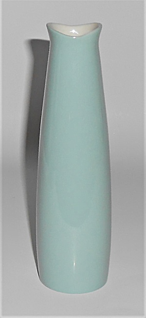 Franciscan Pottery Contours Art Ware #20 Green/white V