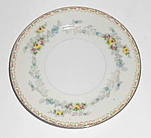 Sampy Fine China Japan Les Fleurs Bread Plate