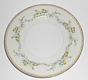 Sampy Fine China Japan Les Fleurs Dinner Plate