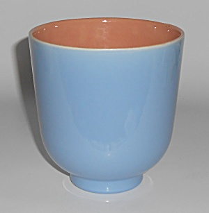 Franciscan Catalina Pottery Capistrano Art Ware Blue/co