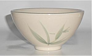 Winfield China Pottery Green Bamboo Rice Bowl (Image1)