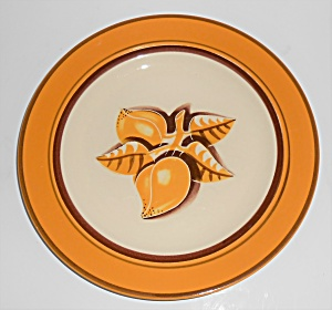 Franciscan Pottery Early Mango Luncheon Plate